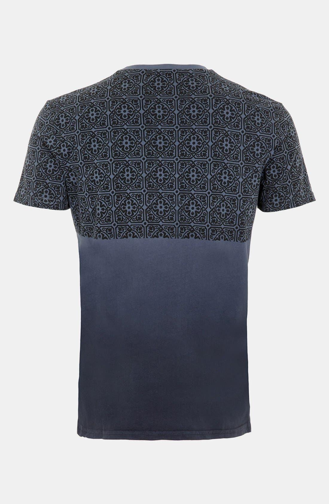 Alternate Image 2  - Topman Dip Dye T-Shirt