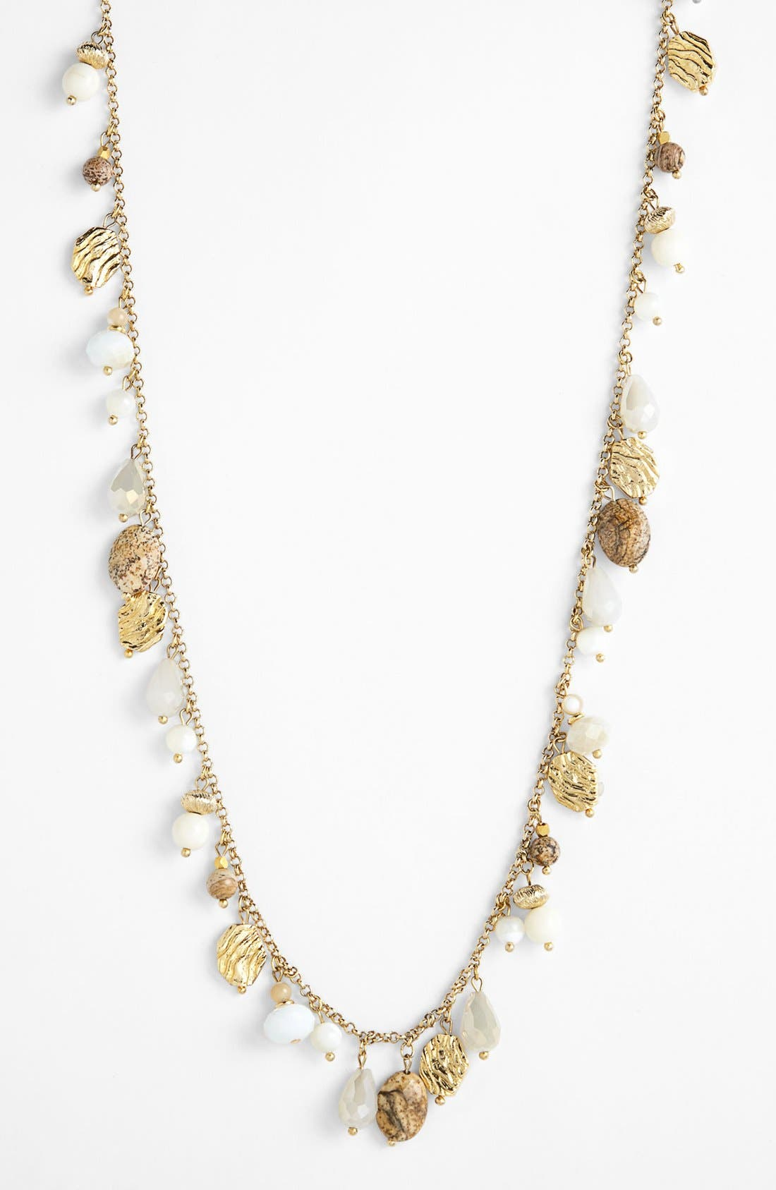 Main Image - Nordstrom 'Pebbles' Long Shaky Bead Necklace