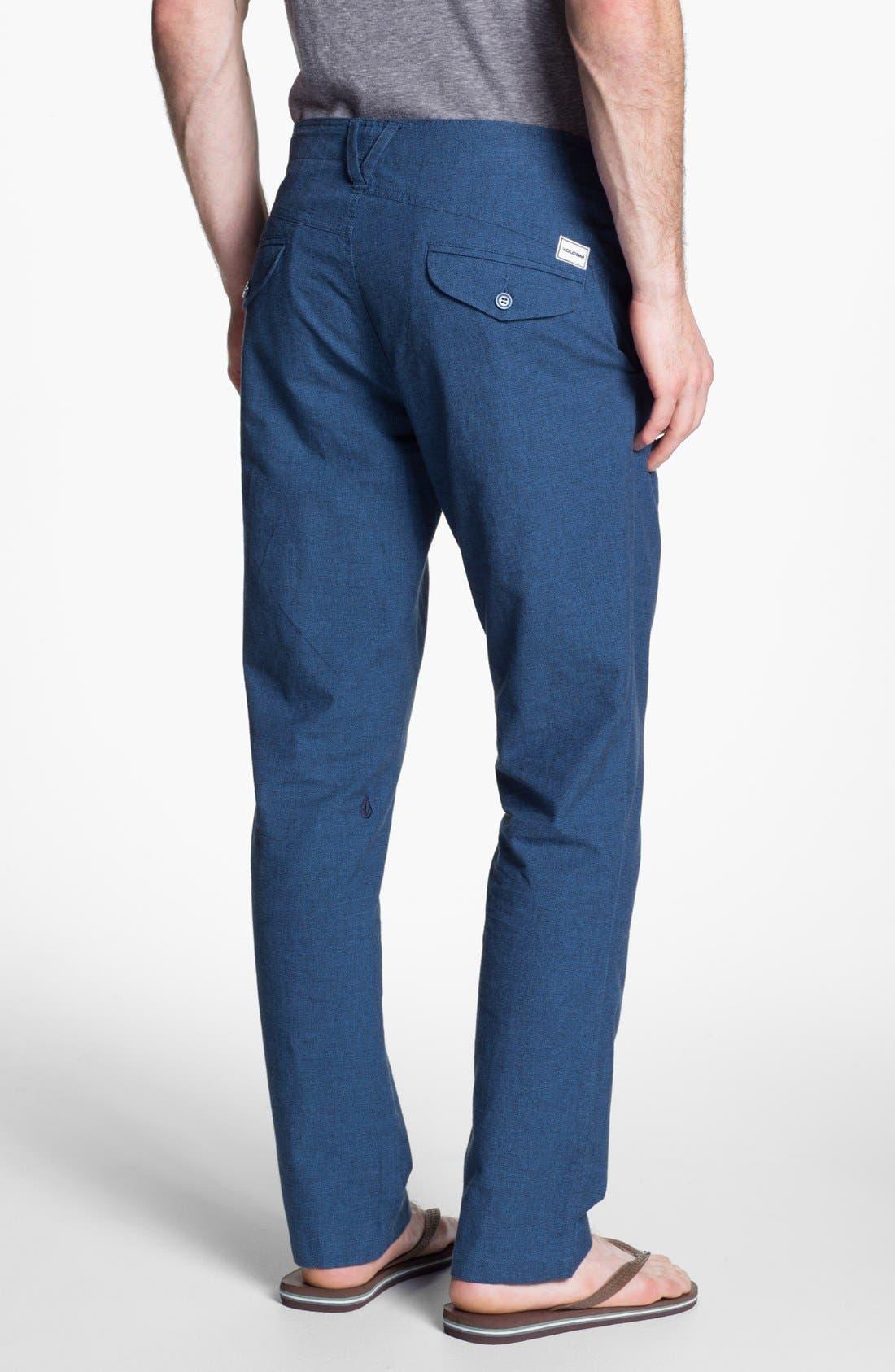 Alternate Image 2  - Volcom 'Vice Versa' Slim Straight Leg Pants