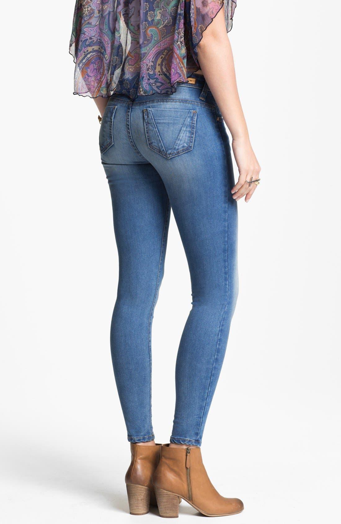 Alternate Image 2  - STS Blue 'Santiago Bay' Skinny Jeans (Medium) (Juniors)