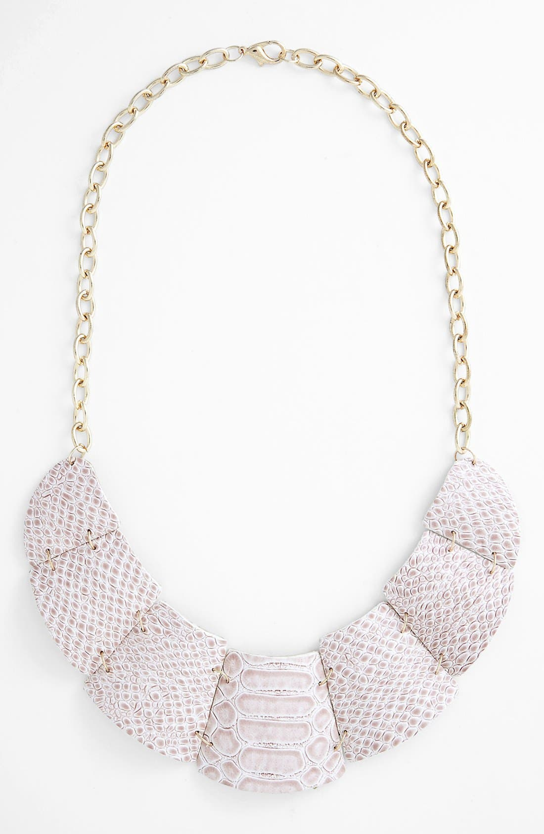 Alternate Image 1 Selected - Natasha Couture Python Collar Necklace