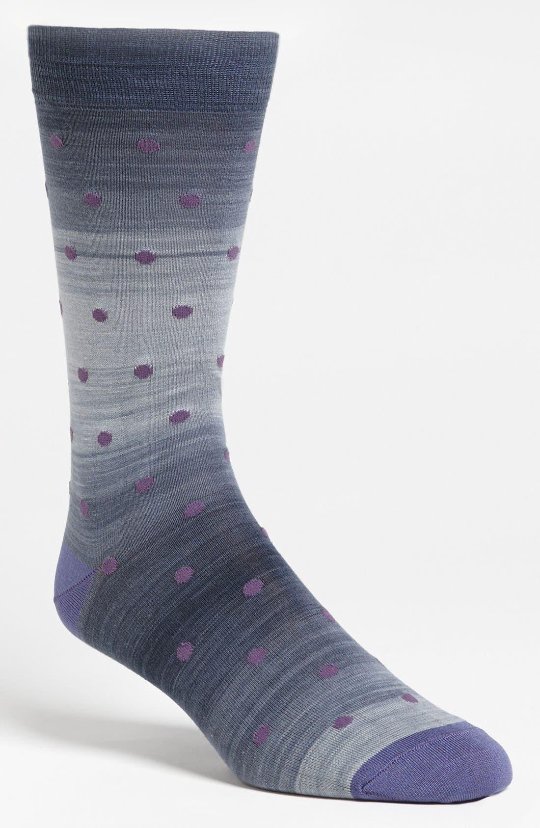Main Image - Marcoliani 'Delave' Dot Socks