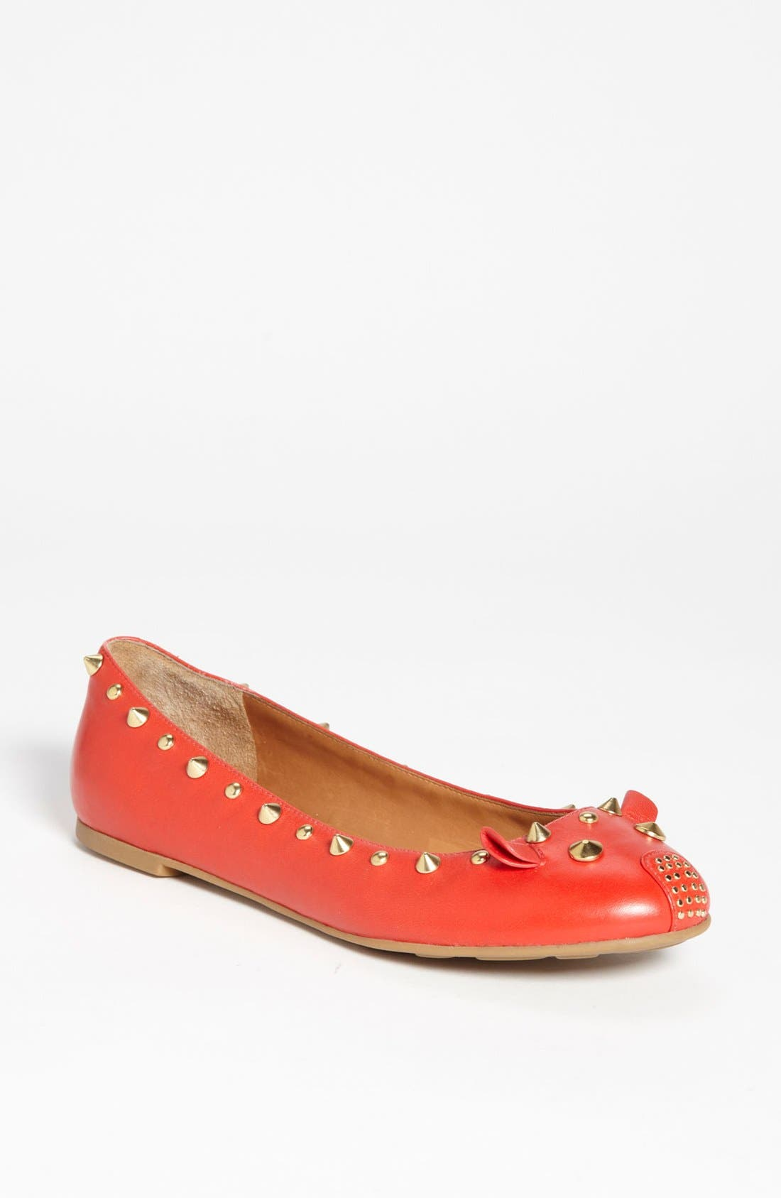 Alternate Image 1 Selected - MARC BY MARC JACOBS 'Mouse' Ballerina Flat