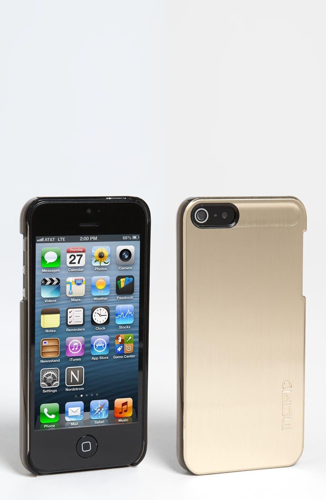 Alternate Image 1 Selected - Incipio 'feather SHINE' iPhone 5 Case