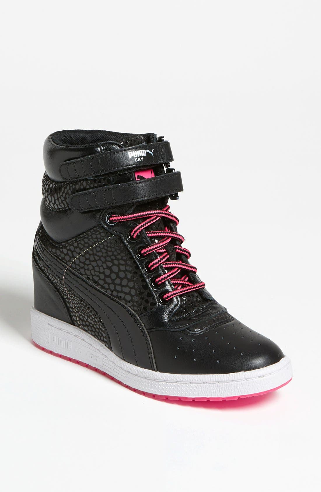 Alternate Image 1 Selected - PUMA 'Sky Wedge' Sneaker (Women)