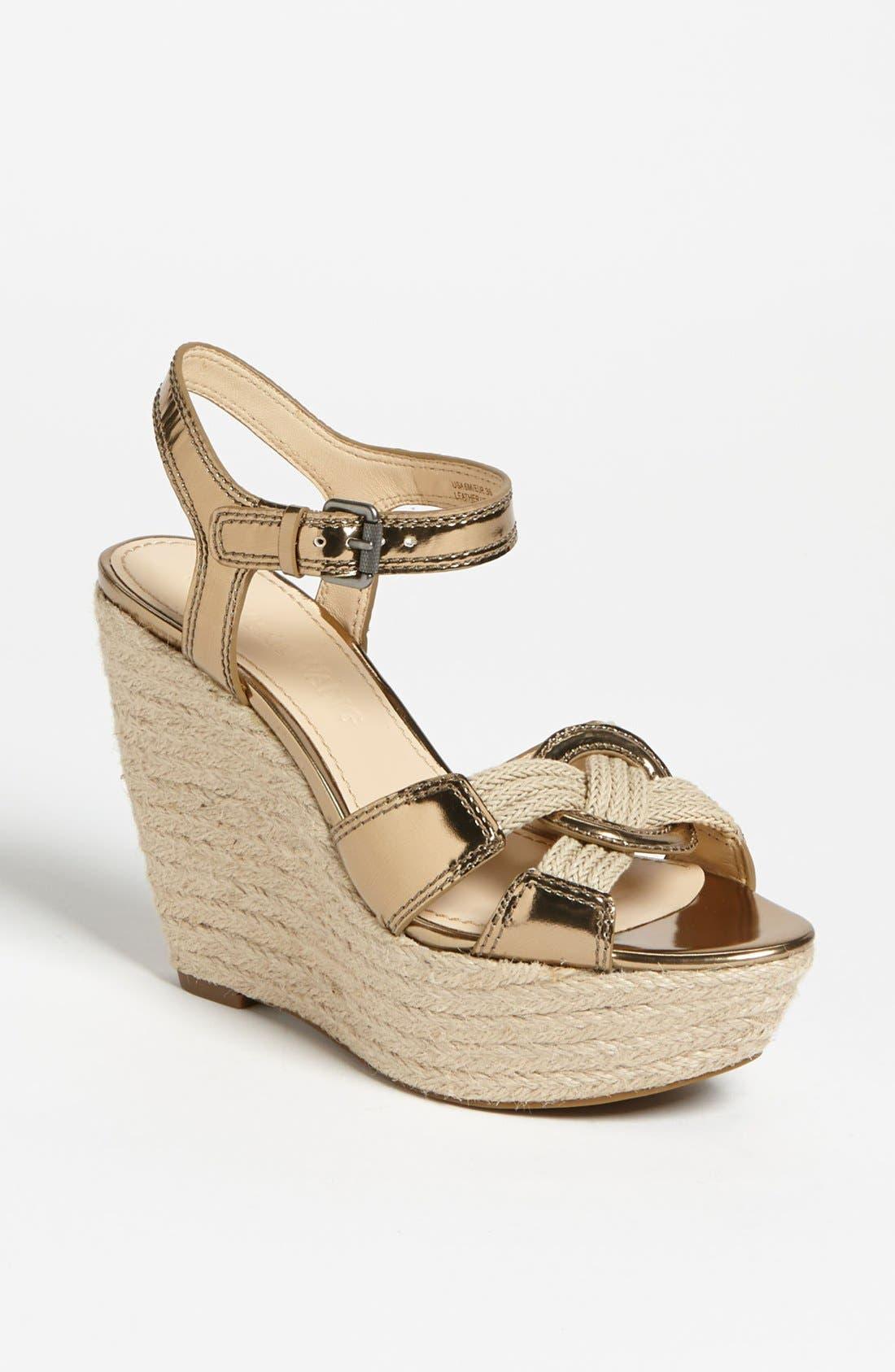 Alternate Image 1 Selected - Vera Wang Footwear 'Tamarind' Wedge Sandal (Online Only)