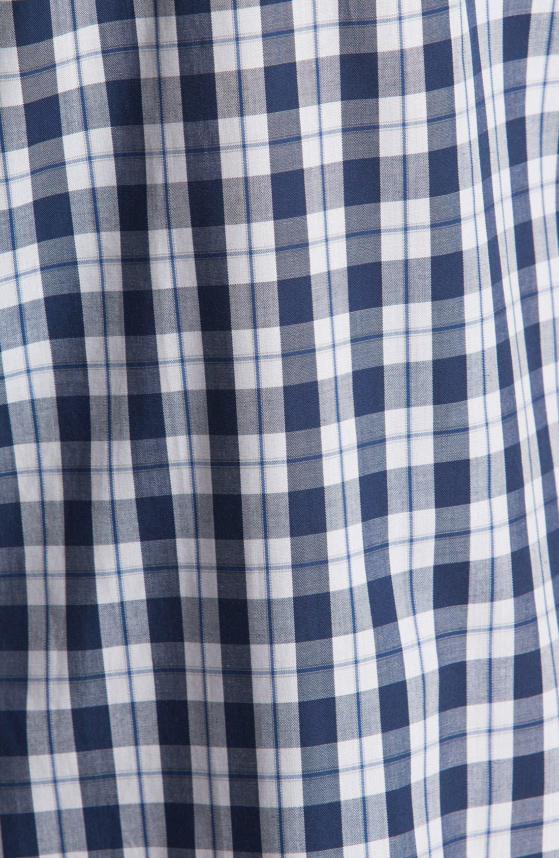 Alternate Image 3  - Brooks Brothers Cotton Pajamas