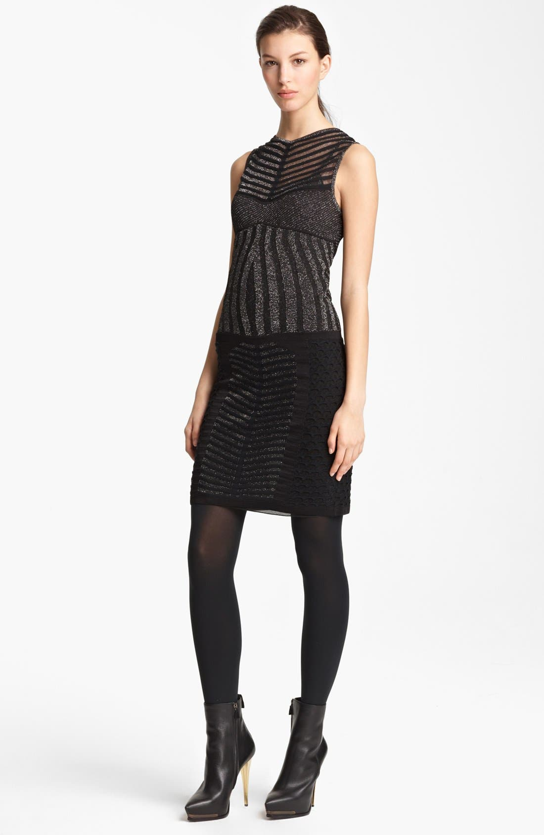 Main Image - Missoni Sleeveless Stripe Knit Dress