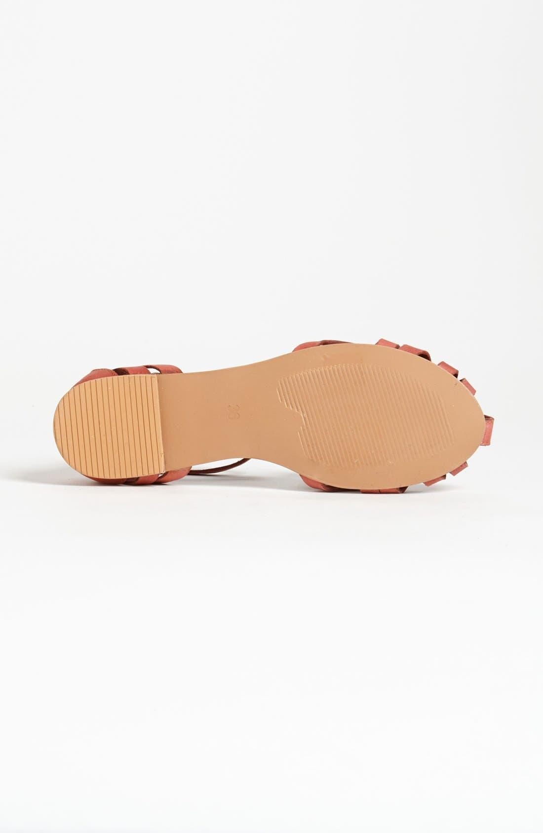Alternate Image 4  - Topshop 'Happy' Cage Toe Sandal