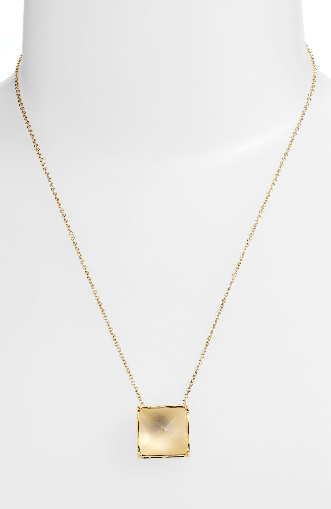 Alternate Image 1 Selected - Alexis Bittar 'Lucite®' Pyramid Pendant Necklace
