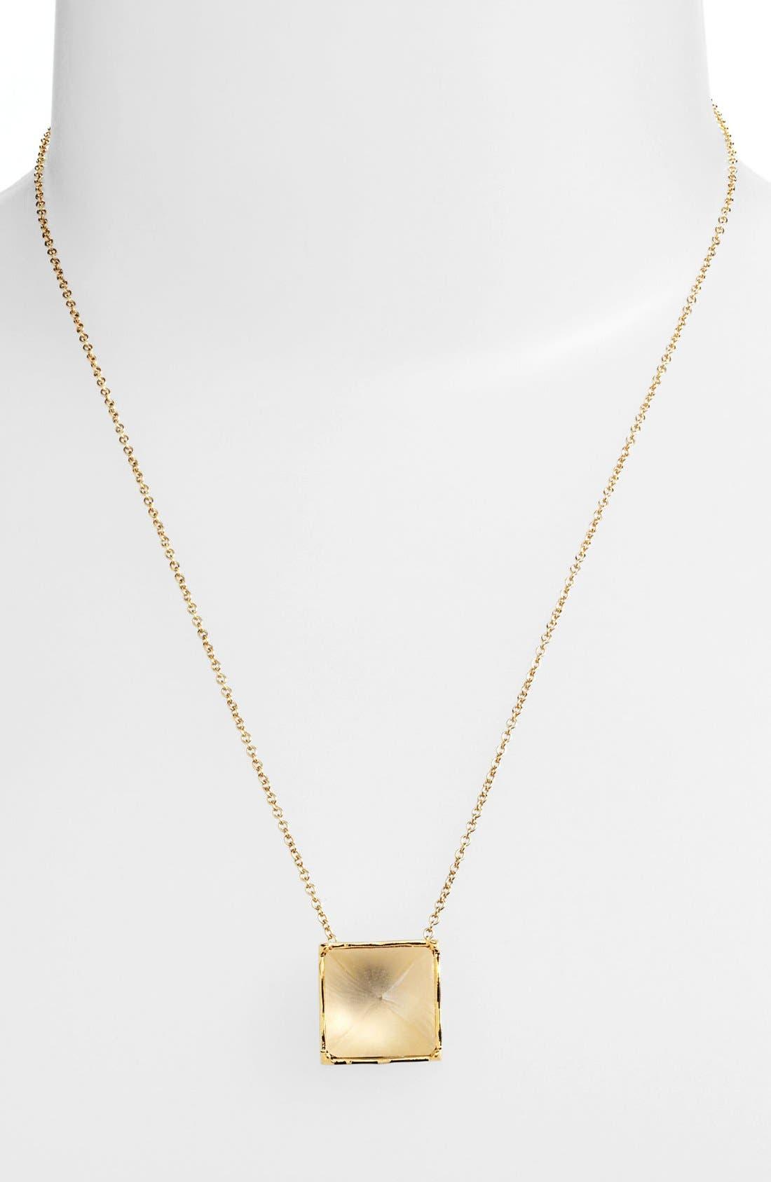 Main Image - Alexis Bittar 'Lucite®' Pyramid Pendant Necklace