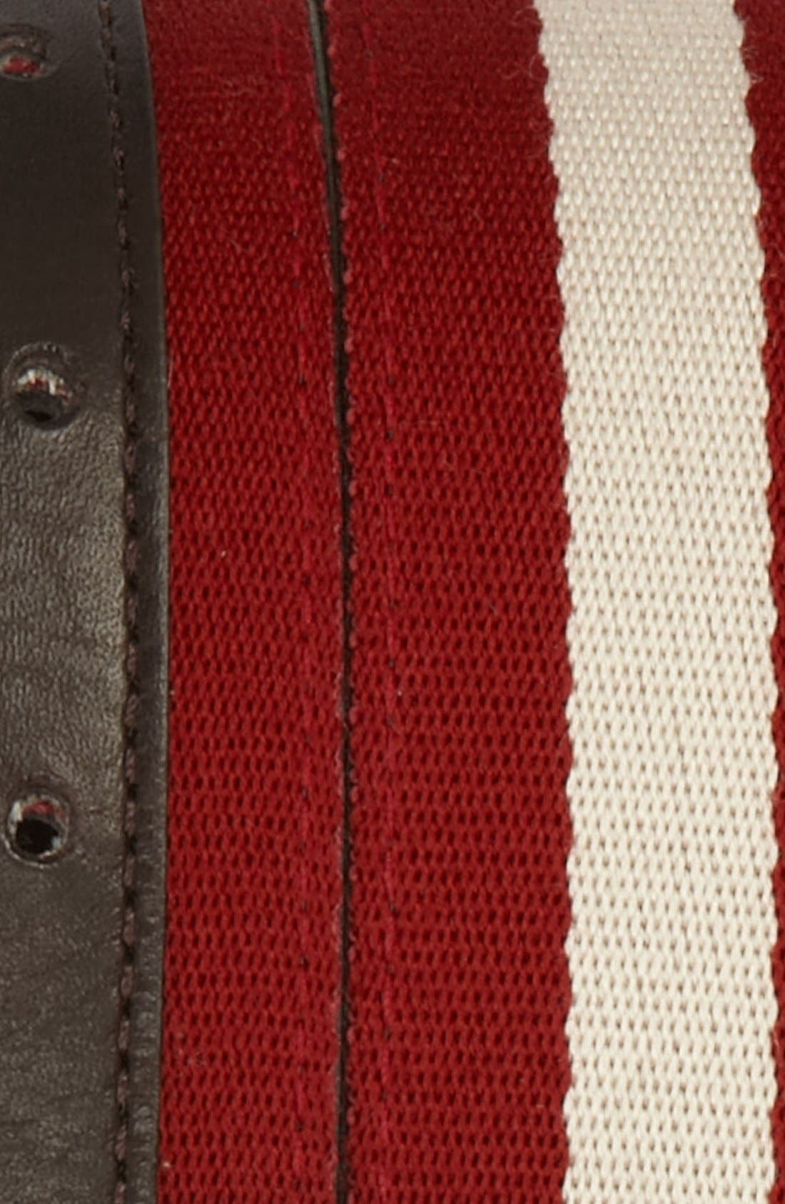 Alternate Image 2  - Bally 'Bising' Stripe Belt (Online Only)