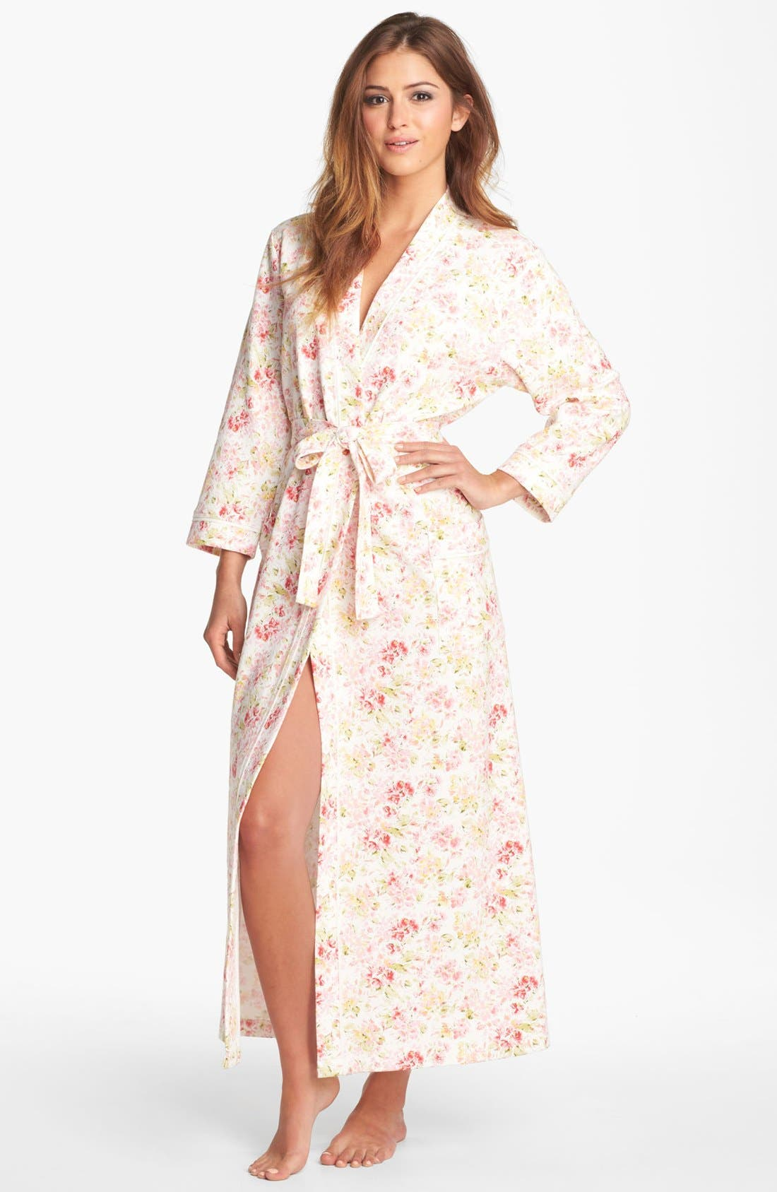 Alternate Image 1 Selected - Carole Hochman Designs 'Bloomfield Garden' Robe