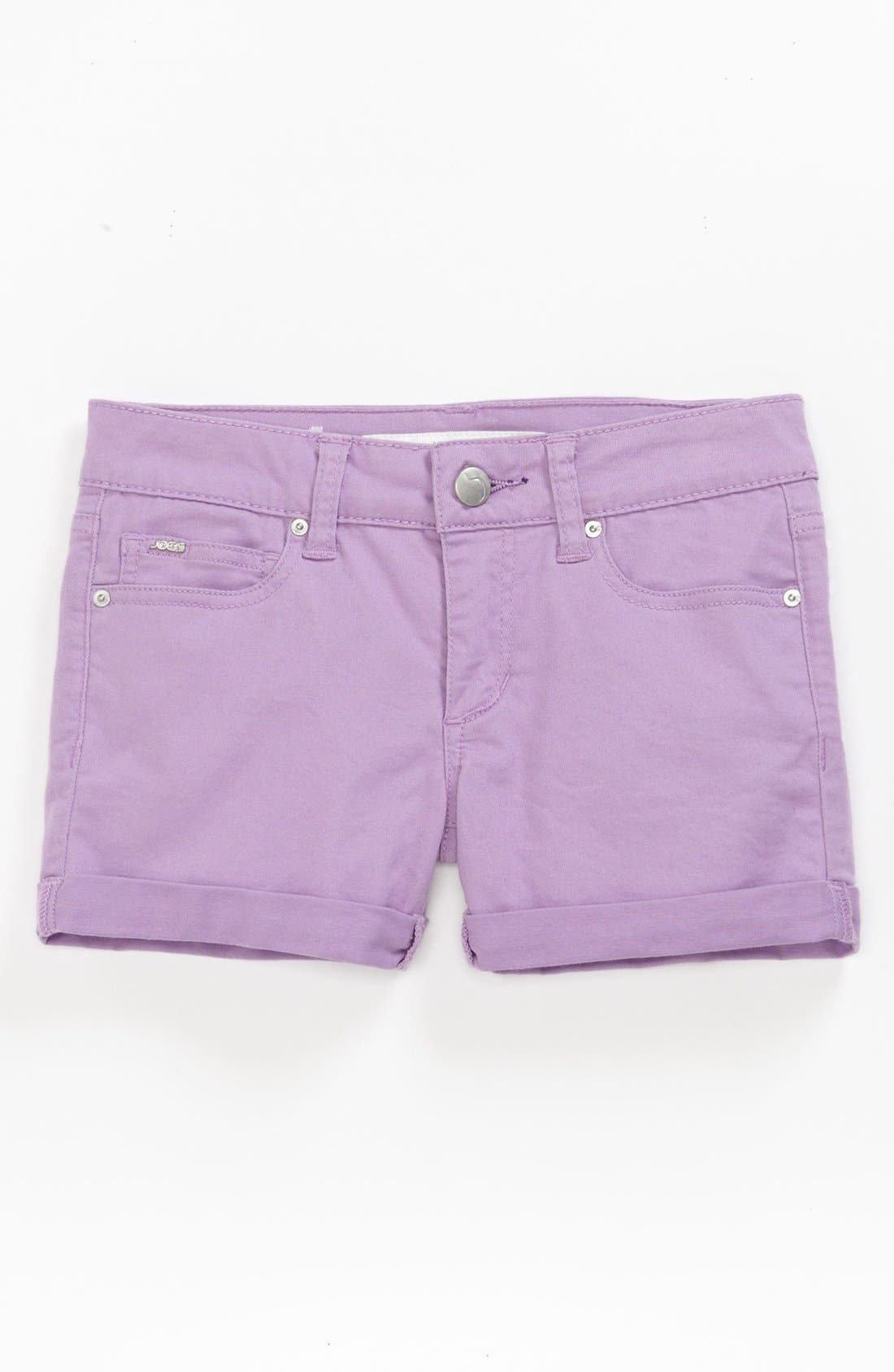Alternate Image 2  - Joe's Roll Cuff Shorts (Little Girls & Big Girls)