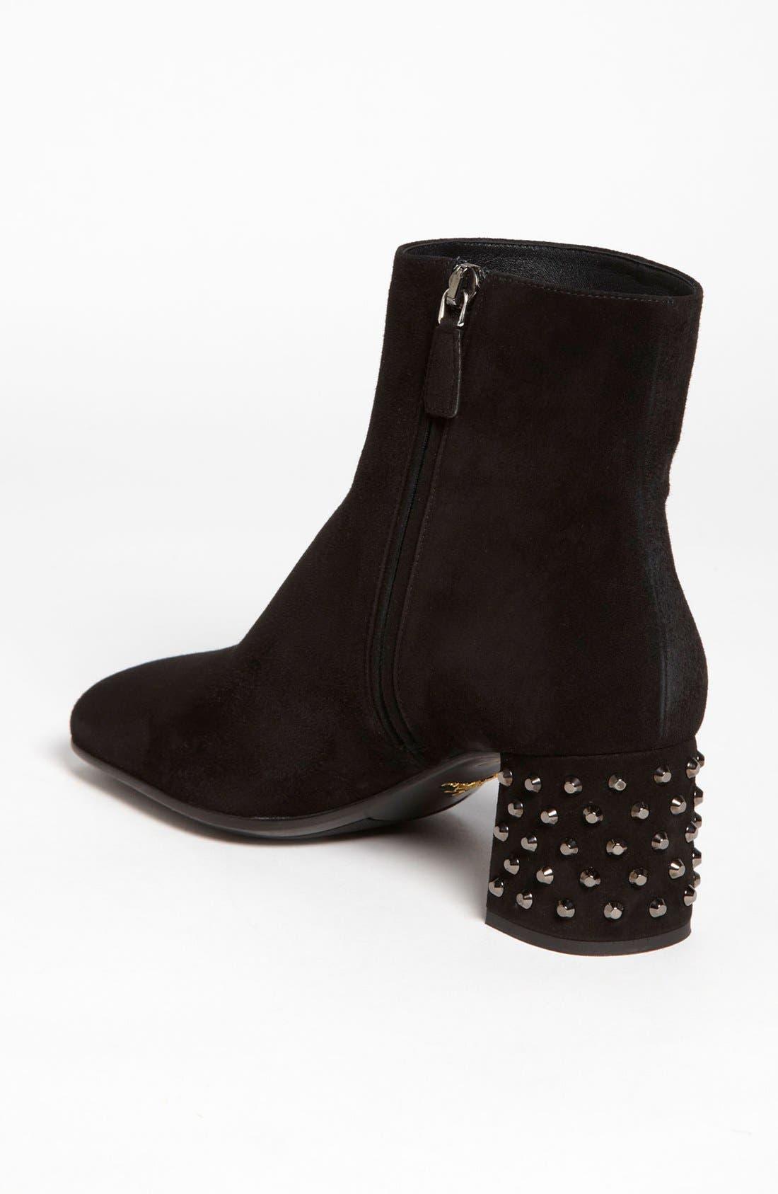 Alternate Image 2  - Prada Studded Heel Bootie
