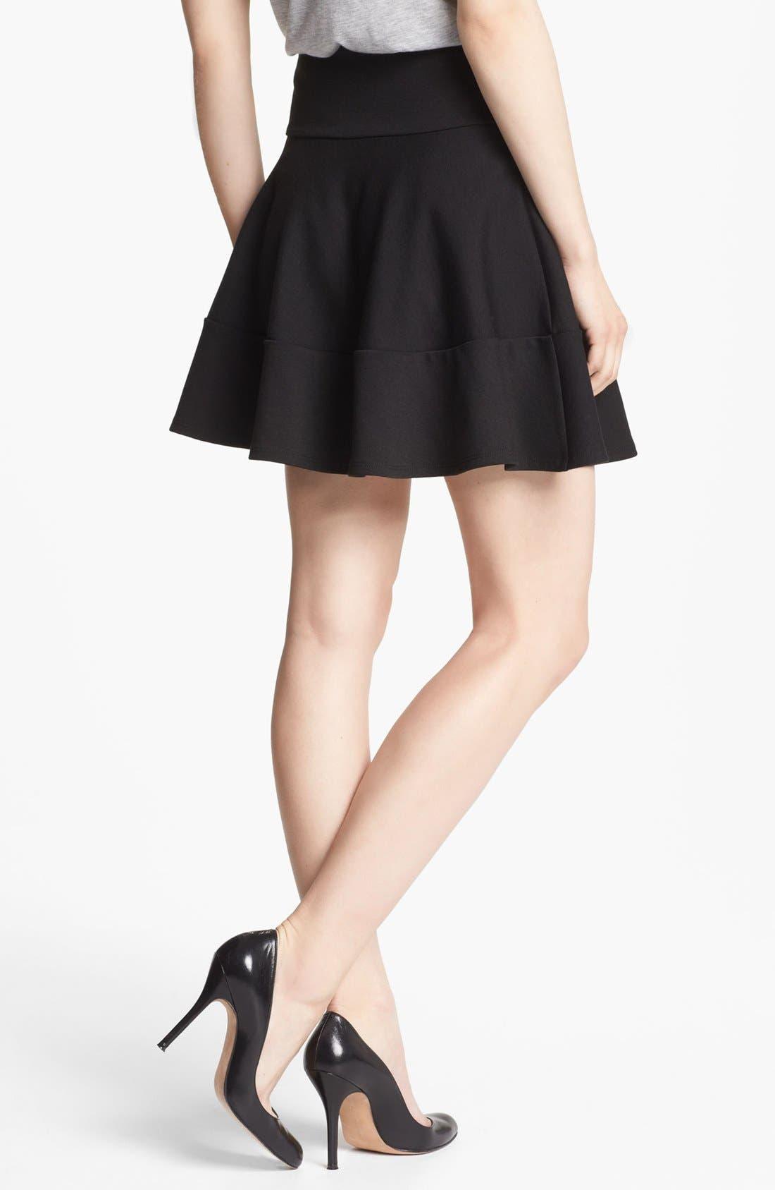 Alternate Image 2  - Robbi & Nikki Tiered Flare Skirt