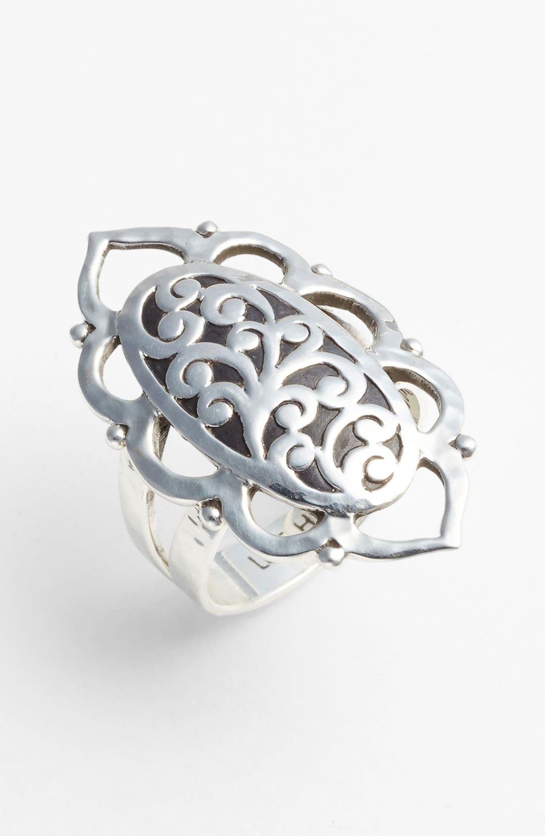 Main Image - Lois Hill Oval Cutout Ring
