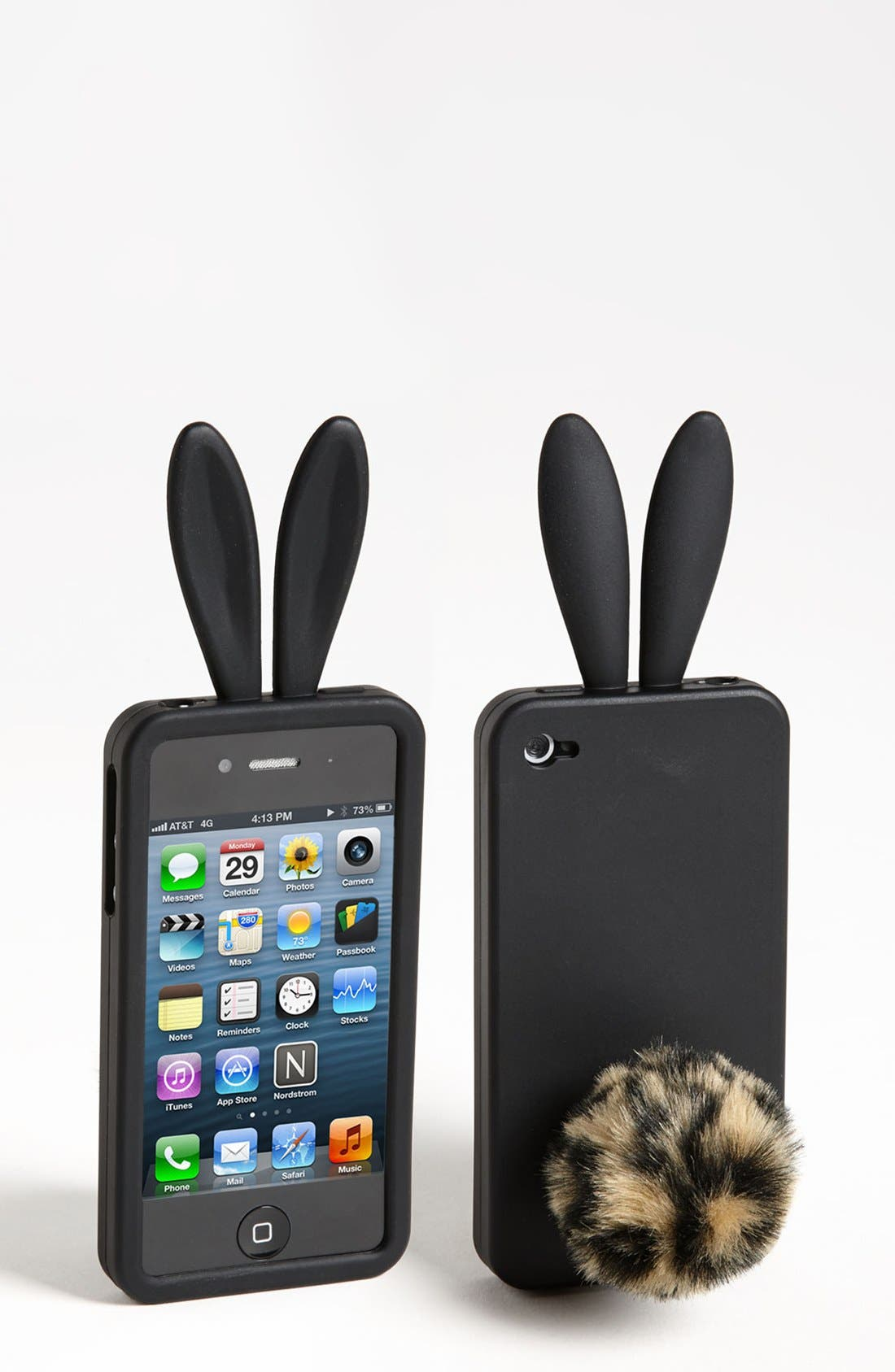 Alternate Image 1 Selected - Capelli of New York 'Bunny Ears' iPhone 4 & 4S Case