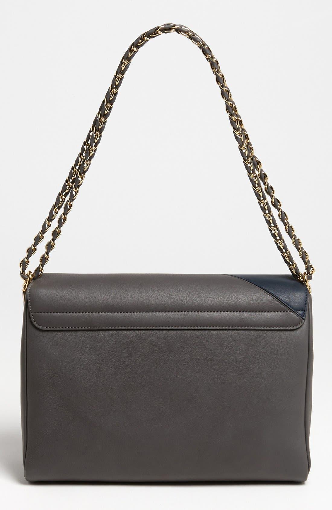 Alternate Image 4  - Fendi 'Claudia - Medium' Leather Shoulder Bag