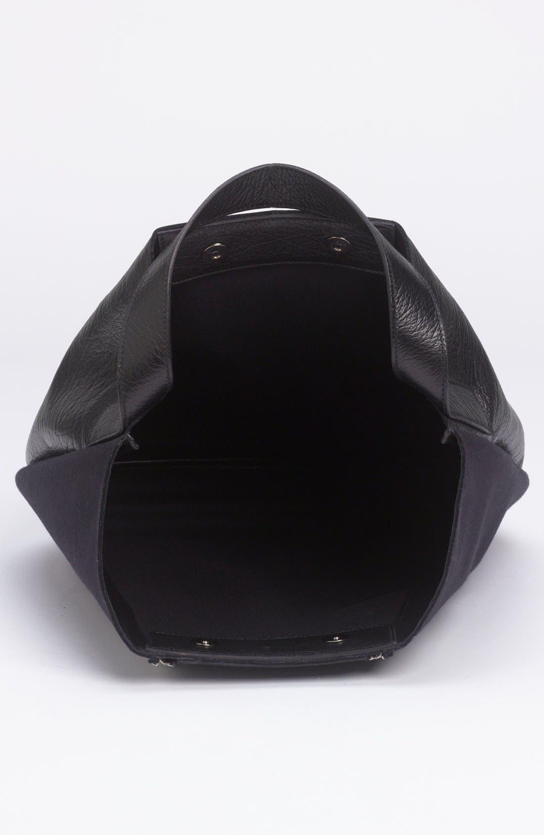 Alternate Image 3  - Marni Bicolor Leather & Fabric Hobo