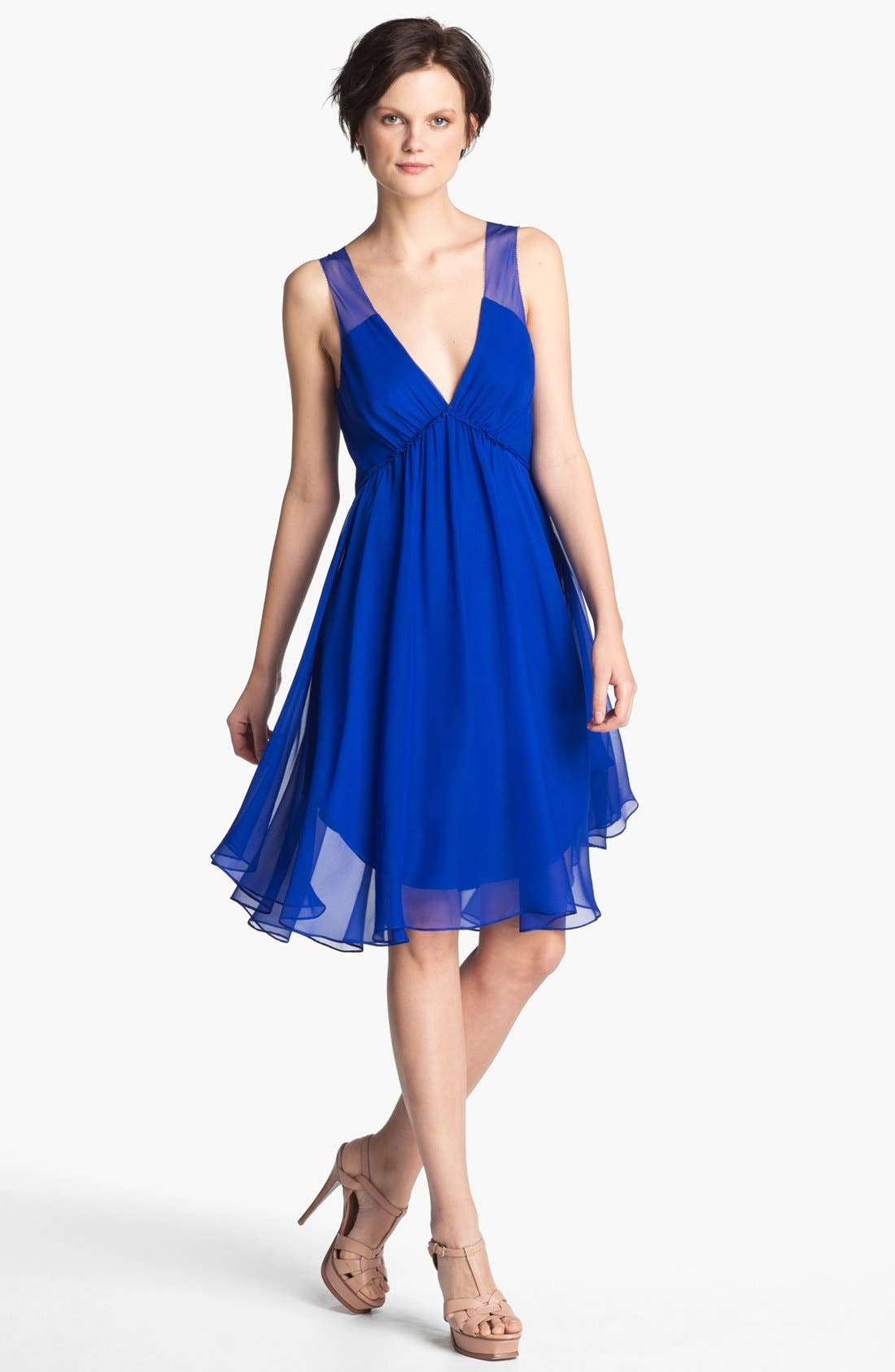 Alternate Image 1 Selected - Haute Hippie 'Betsee' Silk Chiffon Dress