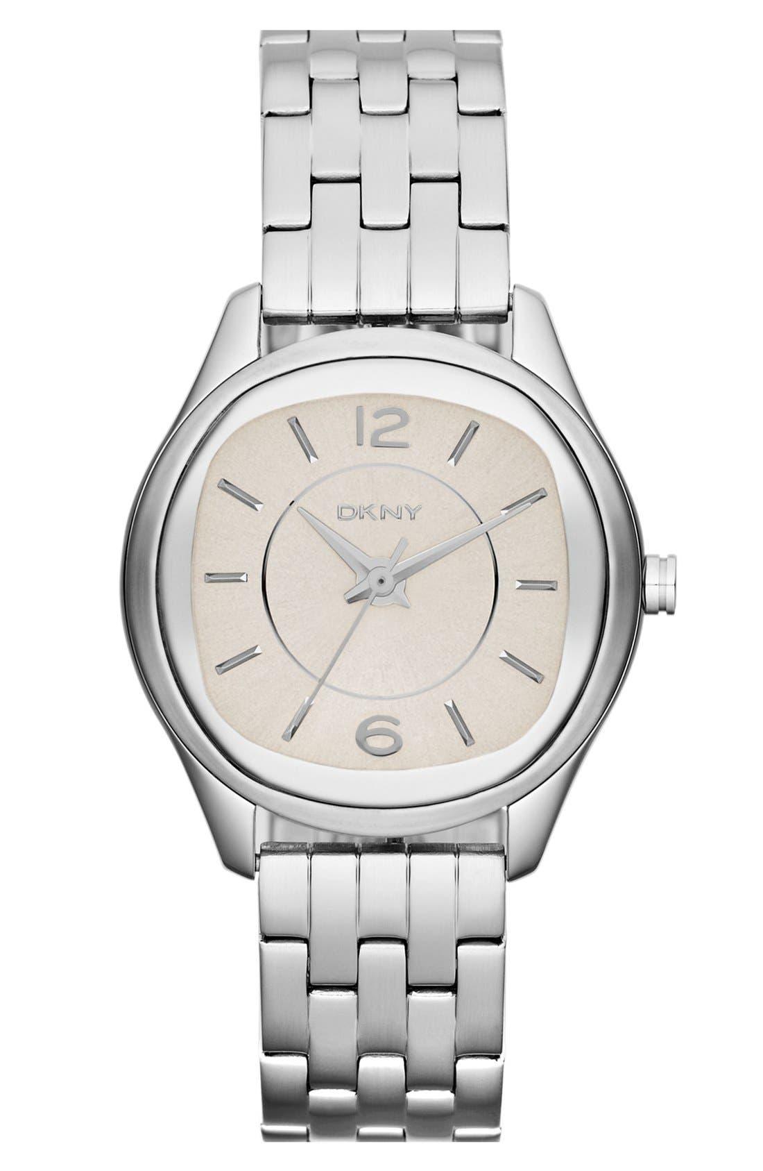 Main Image - DKNY Round Bracelet Watch, 34mm
