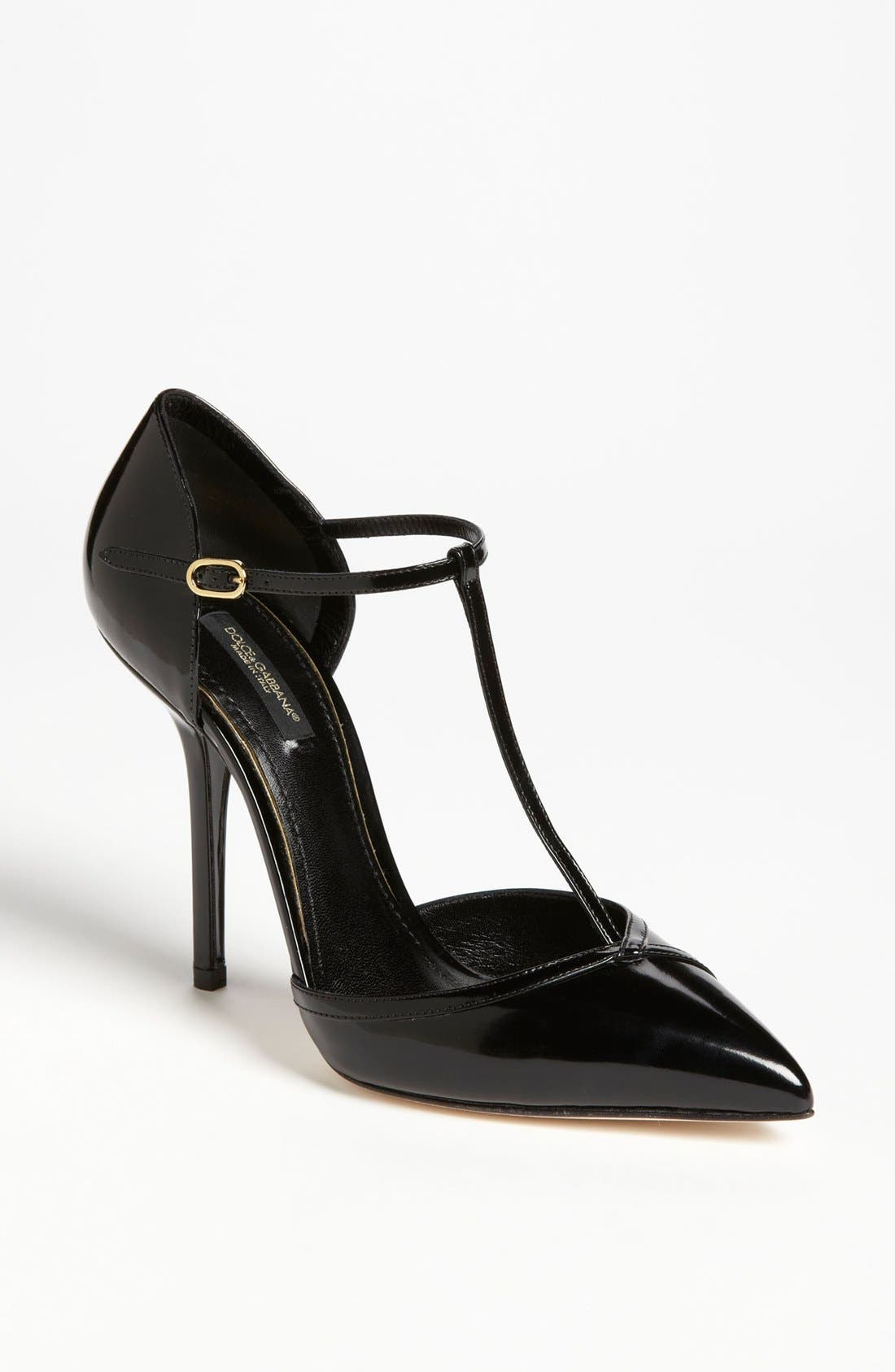 Alternate Image 1 Selected - Dolce&Gabbana T-Strap Pump