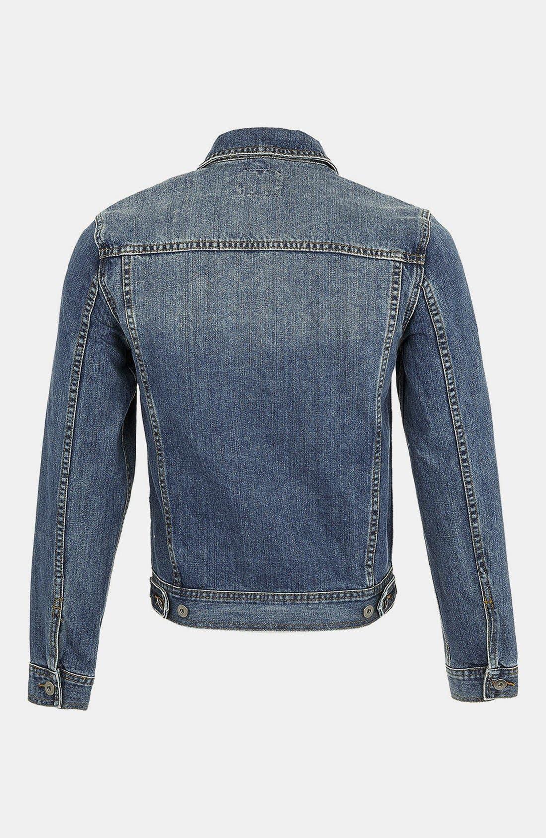 Alternate Image 2  - Topman Denim Jacket