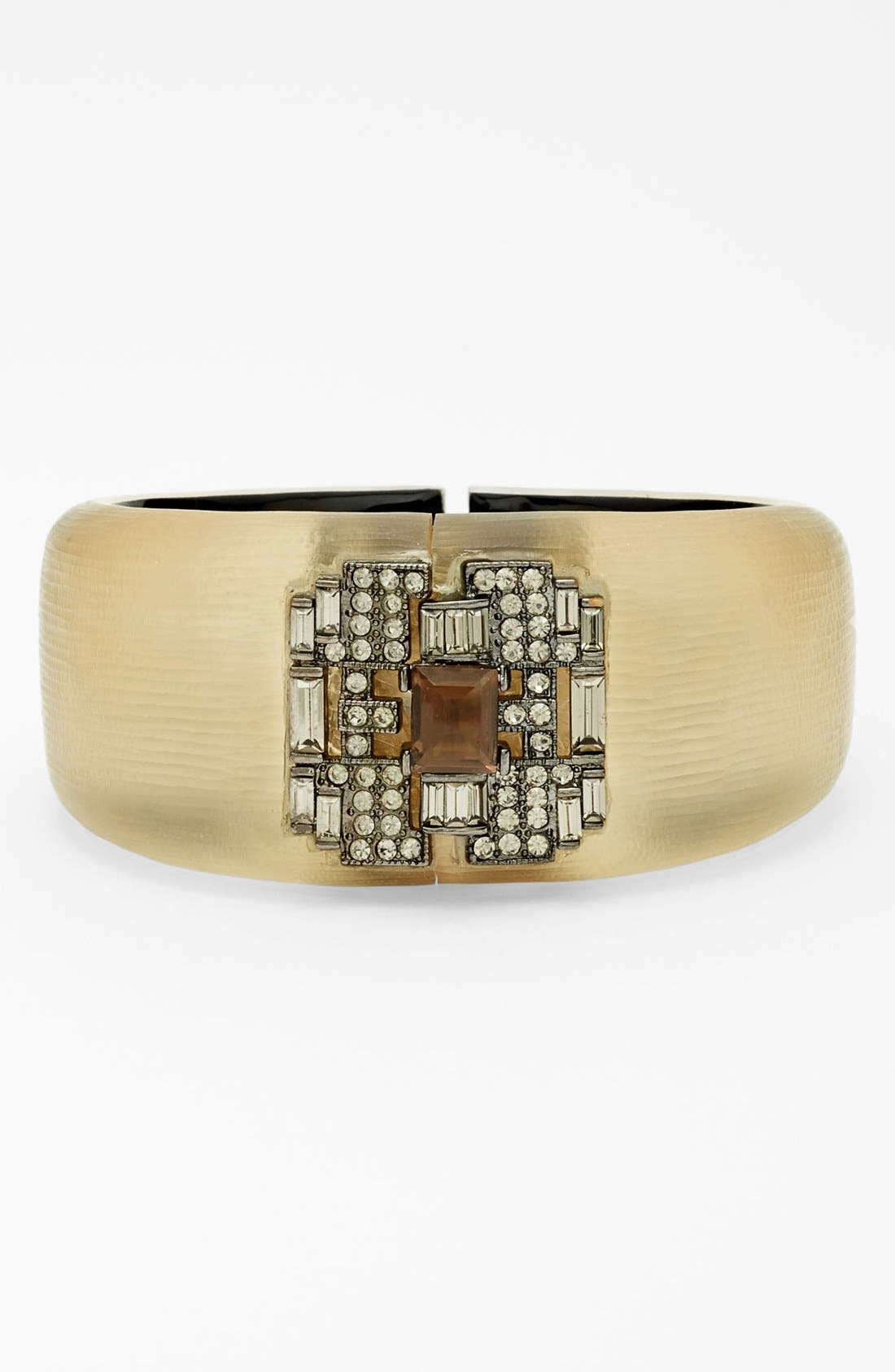 Alternate Image 1 Selected - Alexis Bittar 'Lucite® - Deco' Hinged Bracelet (Nordstrom Exclusive)