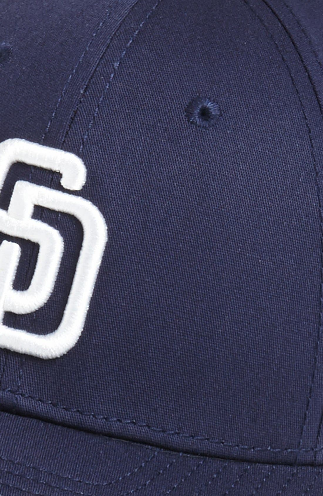 Alternate Image 2  - New Era Cap 'San Diego Padres - Tie Breaker' Baseball Cap (Big Boys)
