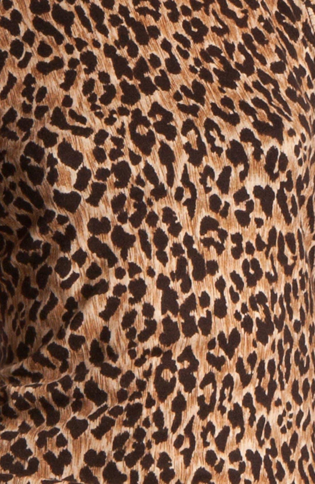 Alternate Image 5  - Dolce&Gabbana Extra Fine Wool Shell