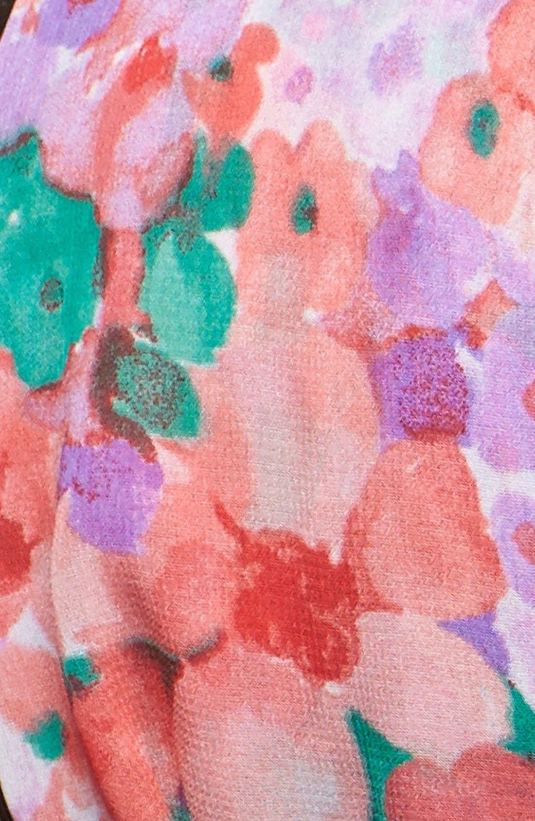 Alternate Image 2  - Tasha 'Frolicking Floral' Head Wrap