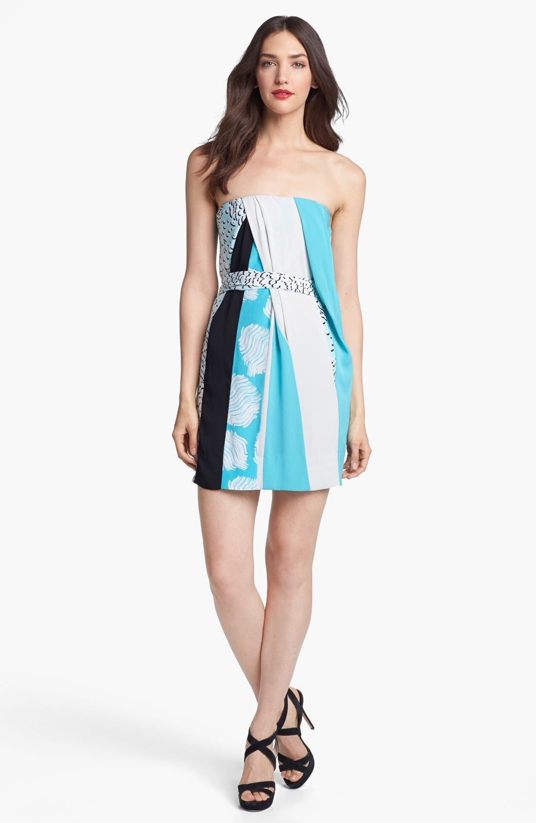 Alternate Image 1 Selected - Diane von Furstenberg 'Rhirhi' Silk Minidress