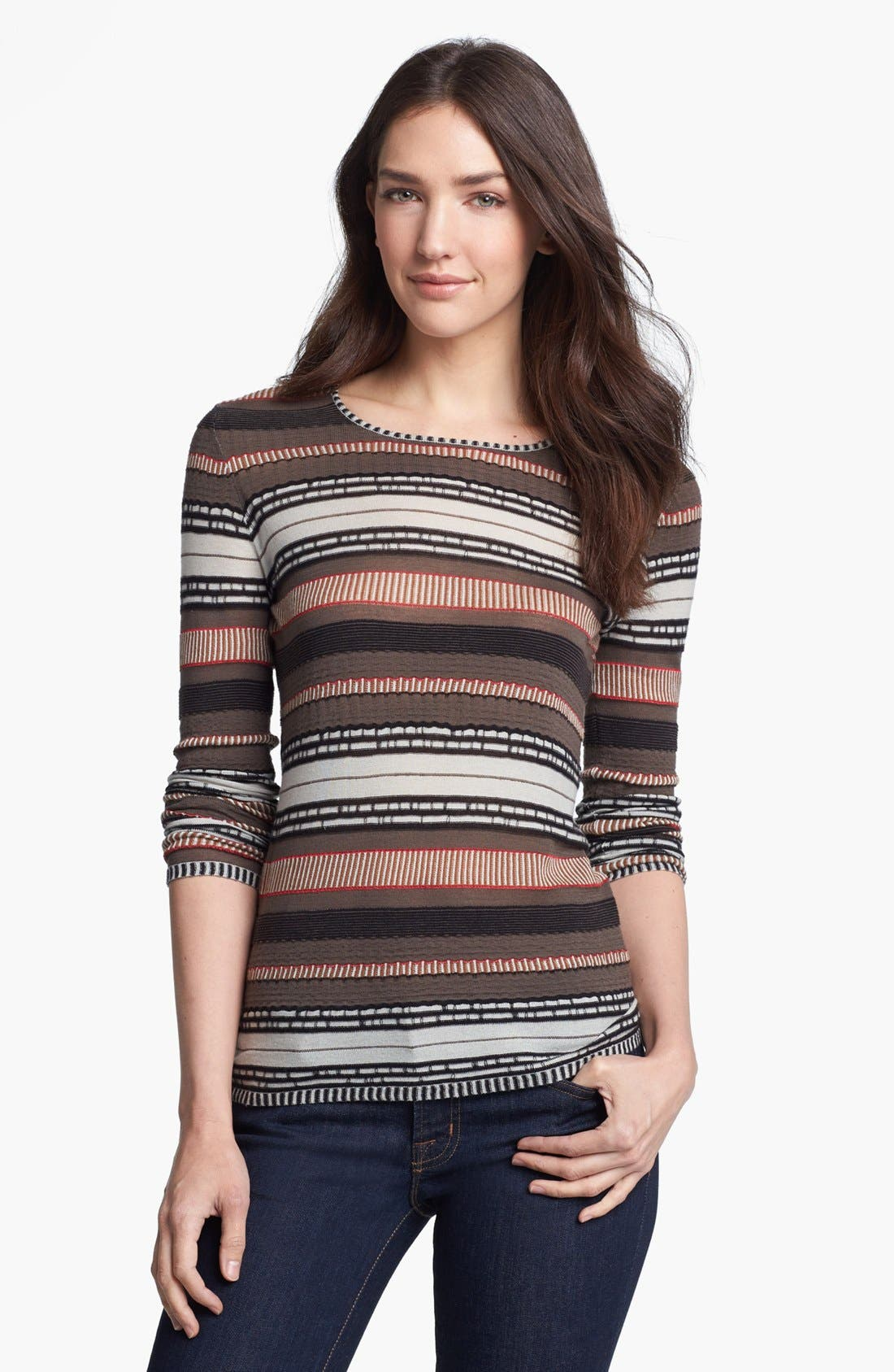 Alternate Image 1 Selected - Rachel Roy Stripe Top