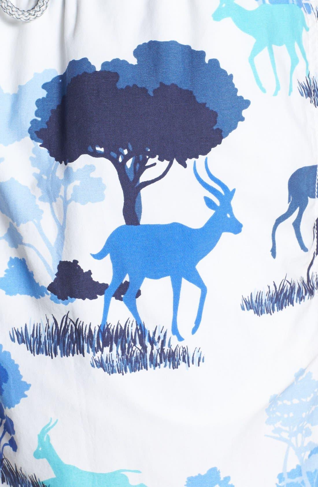 Alternate Image 3  - Vilebrequin 'Moorea' Gazelle Print Swim Trunks