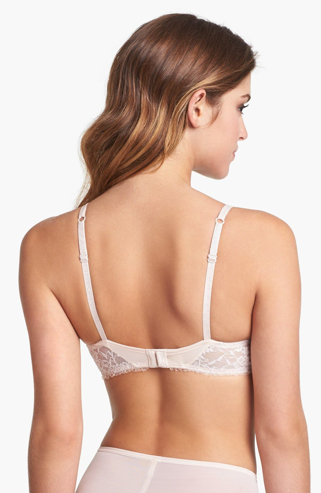 Alternate Image 2  - DKNY 'Perfect' Underwire Push-Up Demi Bra