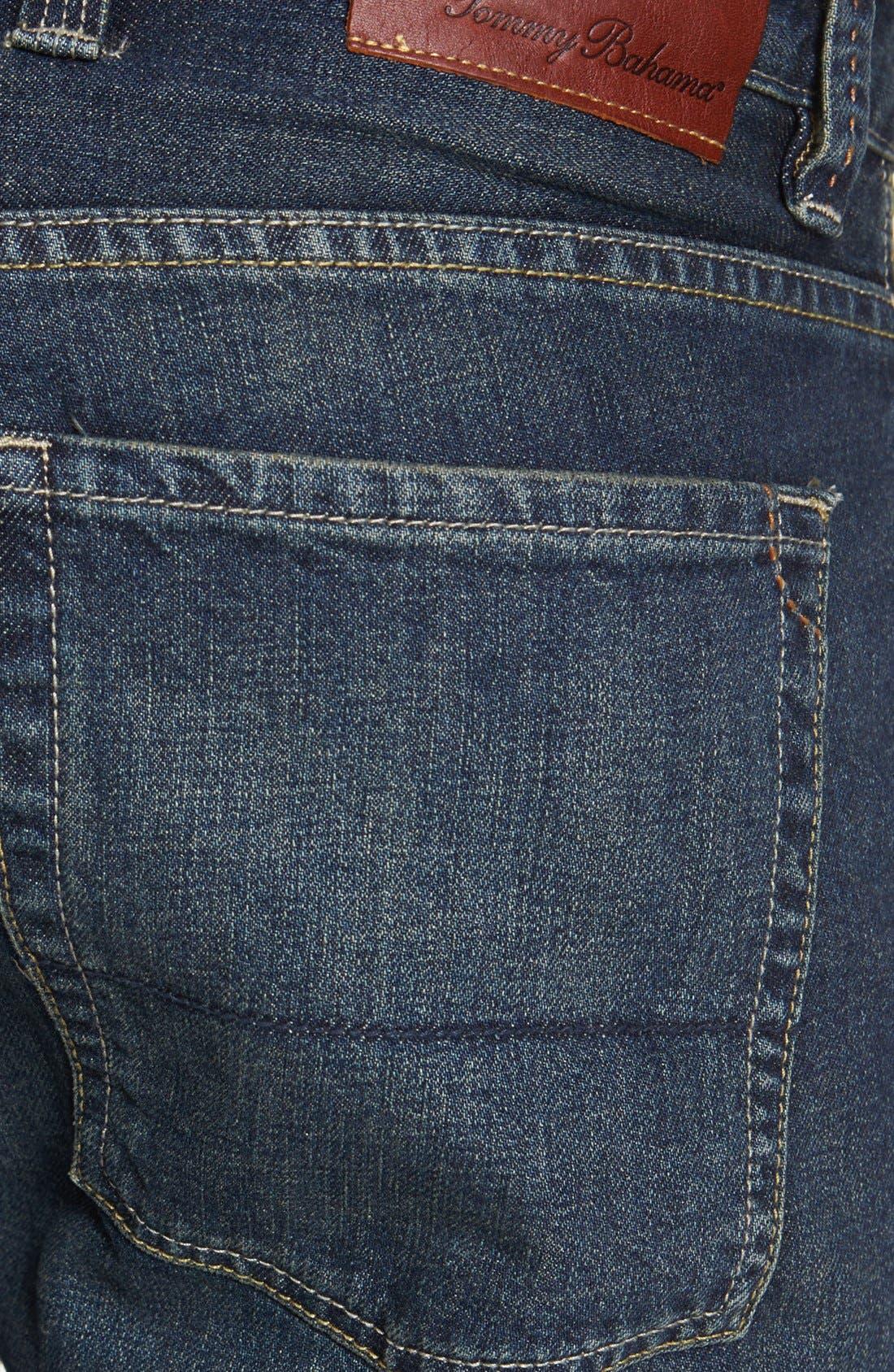 Alternate Image 4  - Tommy Bahama Denim 'Steve Standard Fit' Jeans (Vintage)