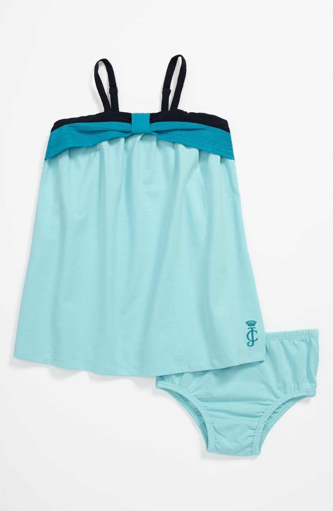 Alternate Image 1 Selected - Juicy Couture Knit Dress & Bloomers (Baby)