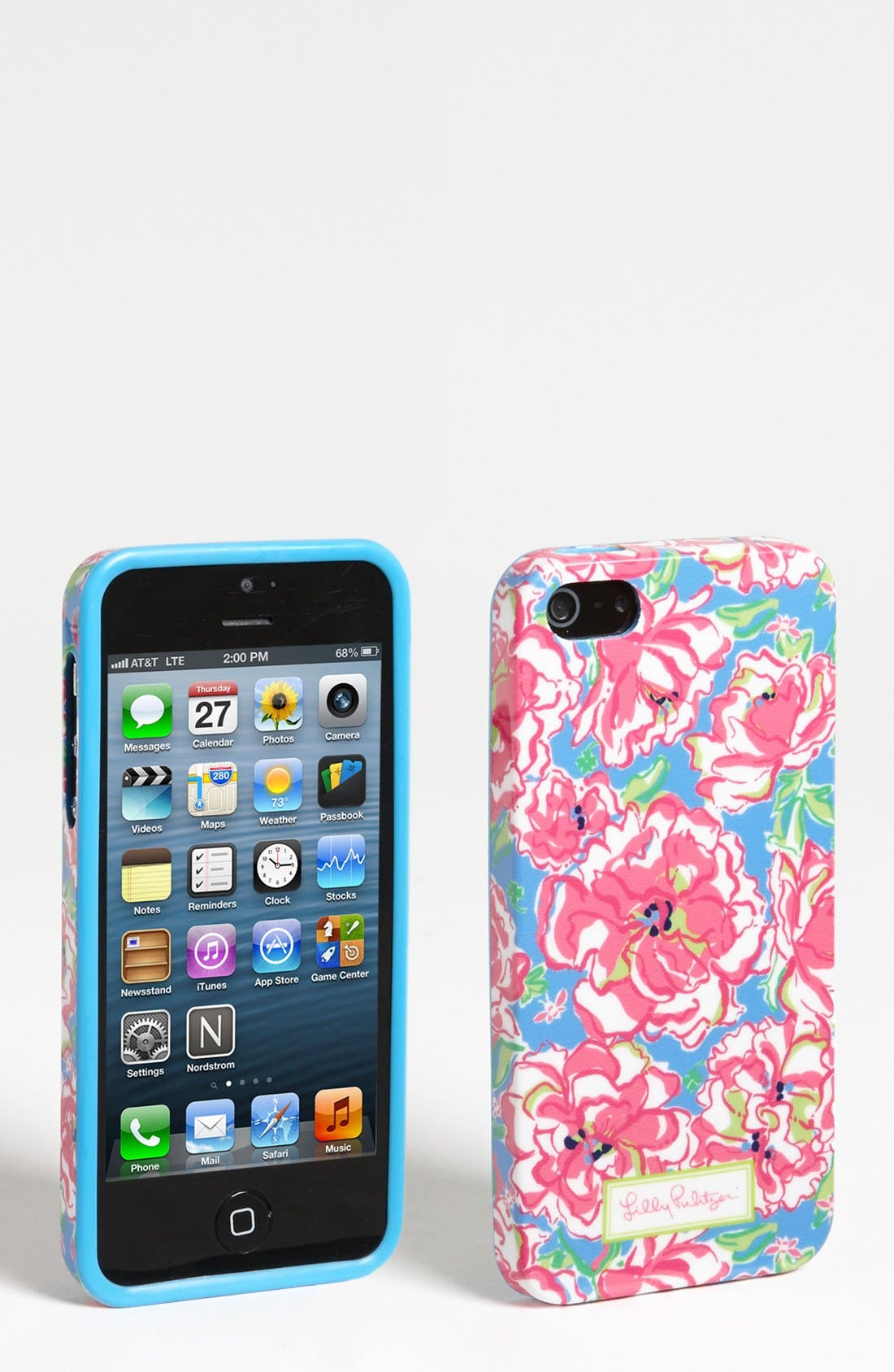 Alternate Image 1 Selected - Lilly Pulitzer® Floral Print iPhone 5 Case