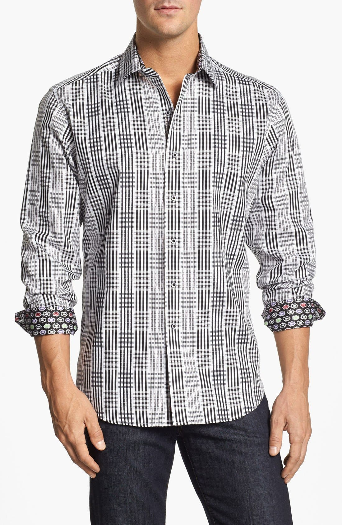 Alternate Image 1 Selected - Robert Graham 'Henri' Sport Shirt