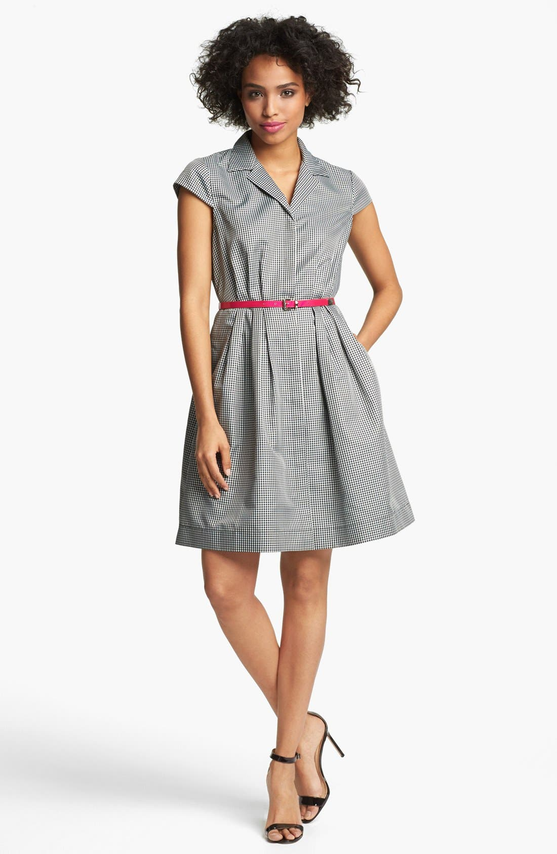 Alternate Image 1 Selected - Ivy & Blu Gingham Shirtdress