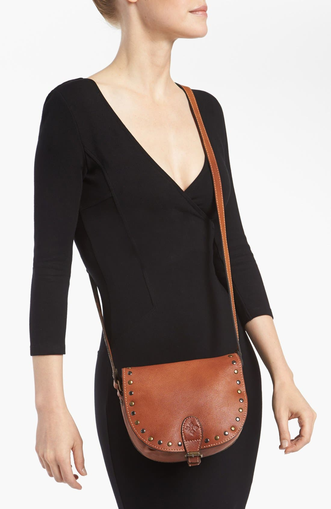Alternate Image 2  - Patricia Nash 'Isola - Small' Leather Crossbody Bag