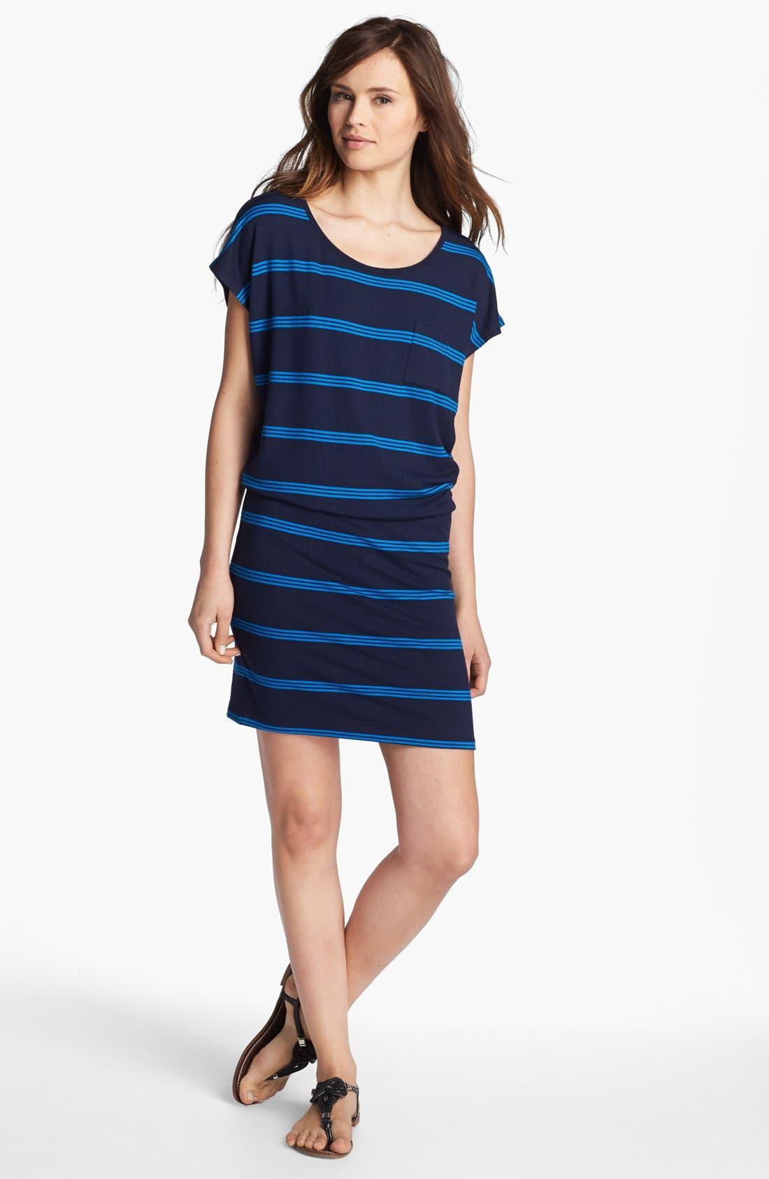 Alternate Image 1 Selected - Caslon® Blouson T-Shirt Dress