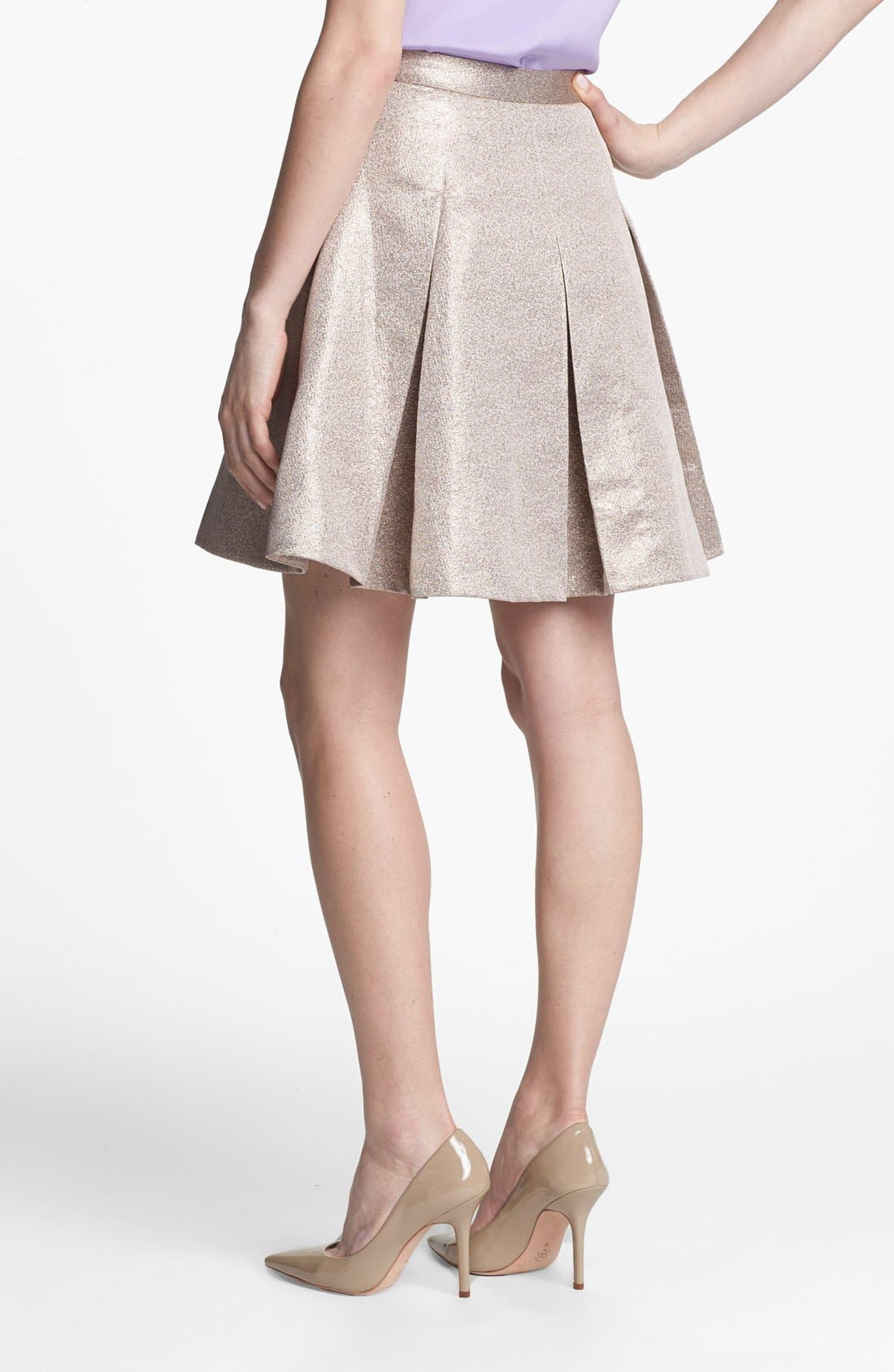 Alternate Image 2  - kate spade new york 'ariella' flare skirt