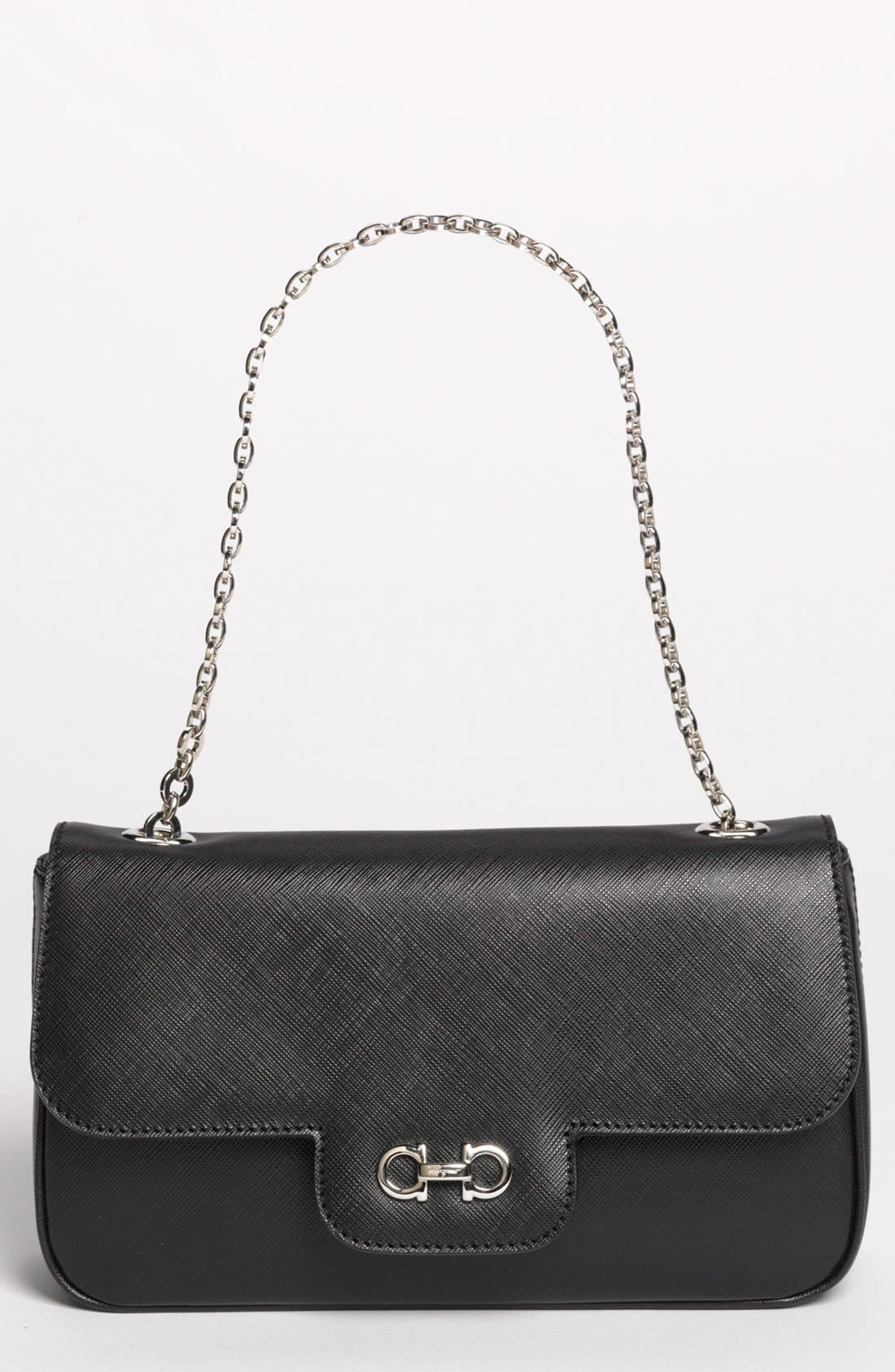 Alternate Image 1 Selected - Salvatore Ferragamo 'Luciana' Leather Shoulder Bag