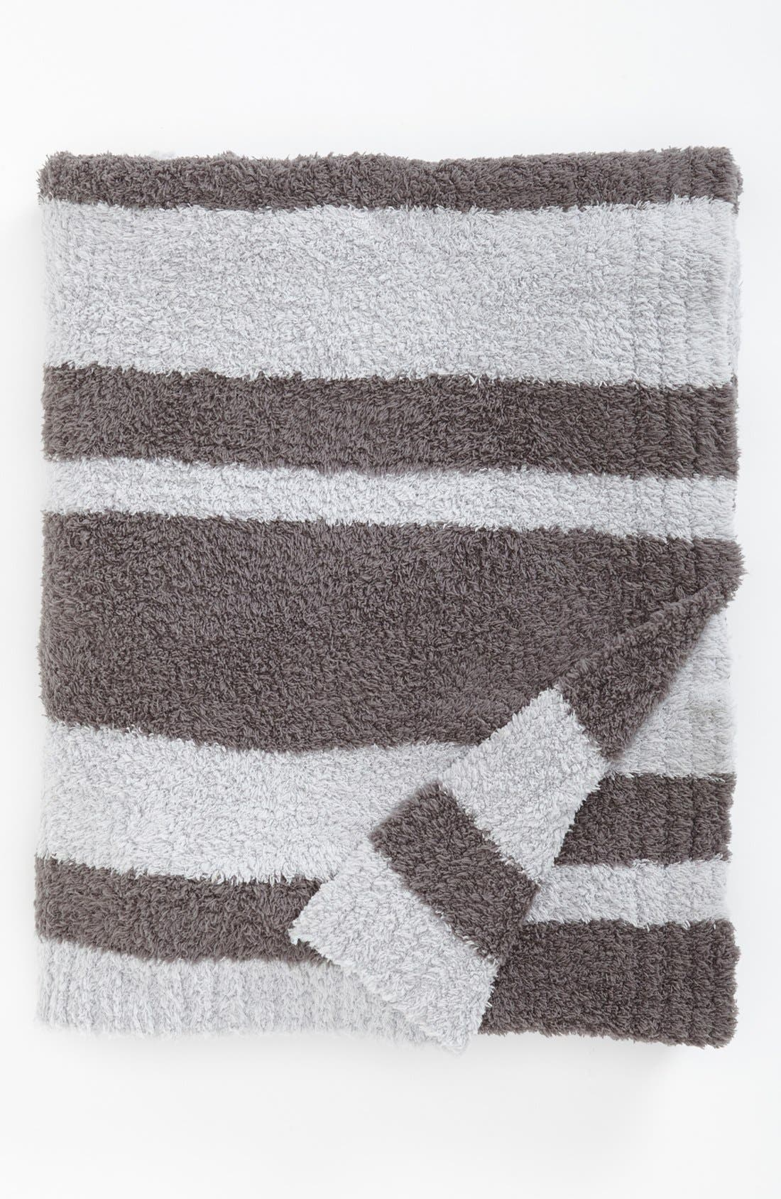 Alternate Image 1 Selected - Barefoot Dreams® 'CozyChic®' Stripe Throw (Nordstrom Exclusive)