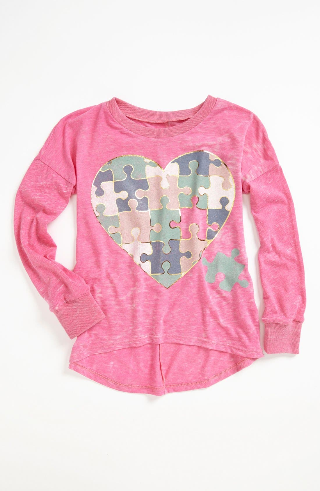 Main Image - Signorelli Long Sleeve Graphic Tee (Big Girls)