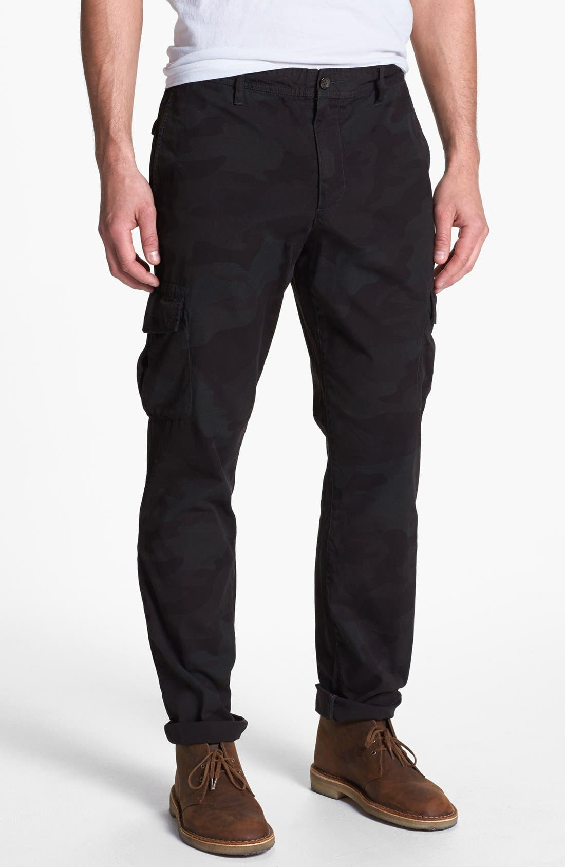 Main Image - Wallin & Bros. 'Riverbend' Camo Cargo Pants