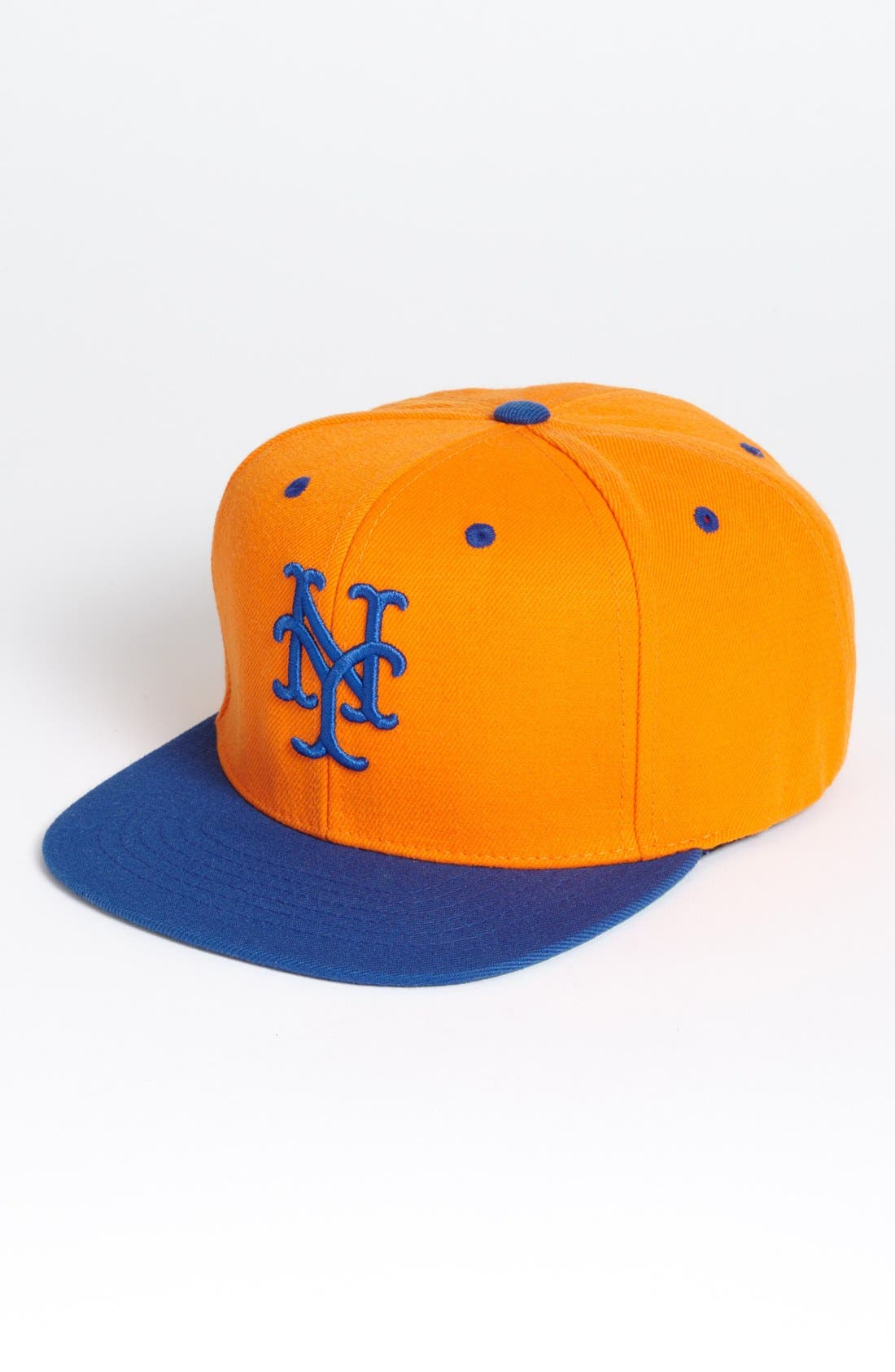 Alternate Image 1 Selected - American Needle 'New York Mets - Back 2 Front' Snapback Baseball Cap