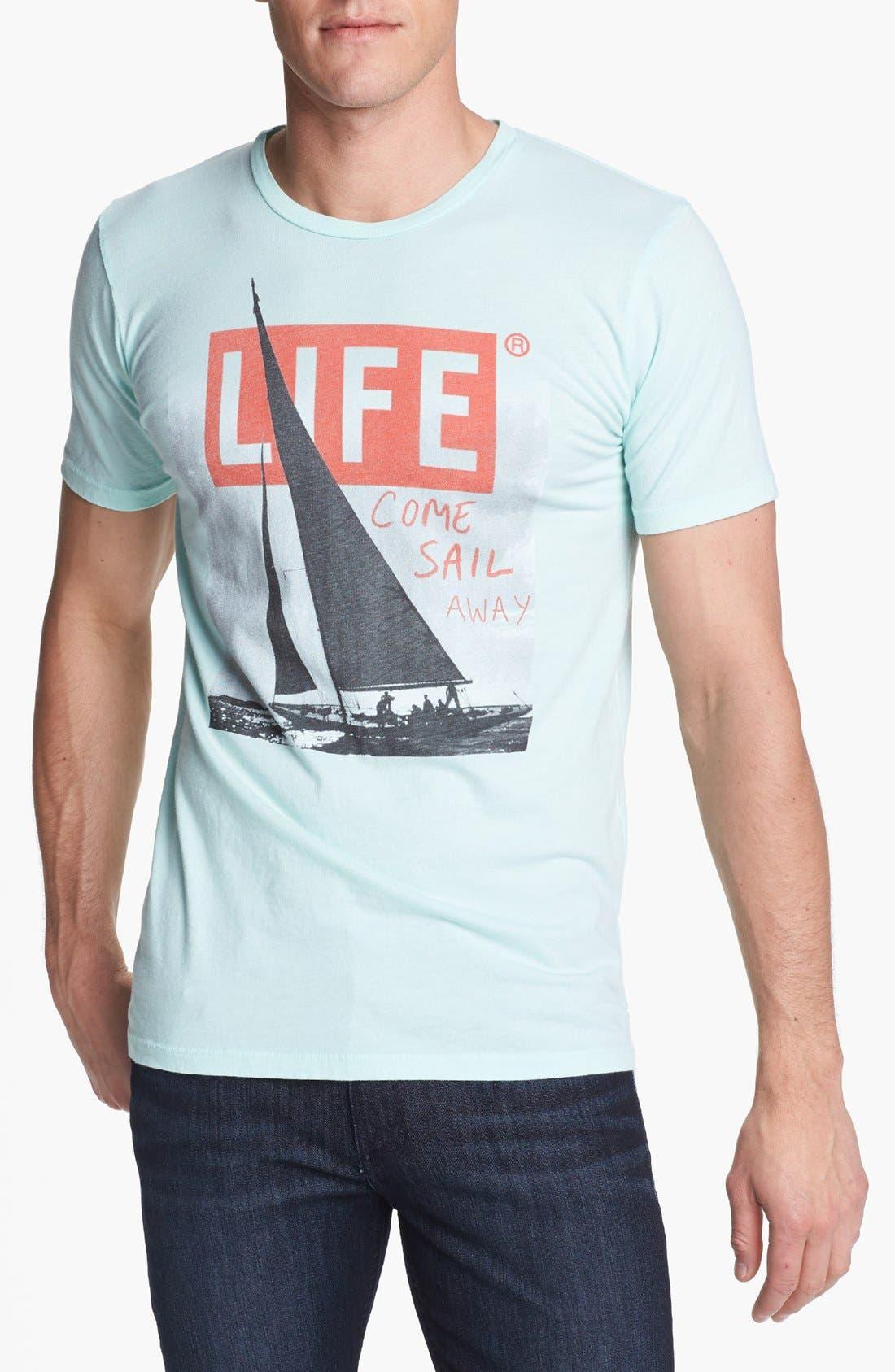 Alternate Image 1 Selected - Altru 'Sail Away' Graphic T-Shirt